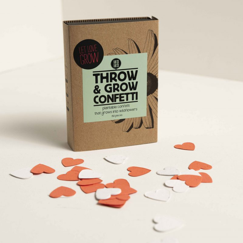Throw & grow confetti